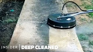How Home Exteriors Are Professionally Deep Cleaned | Deep Cleaned