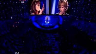 Denmark - Eurovision Song Contest 2010 Semi Final - BBC Three