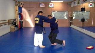 Hapkido One Wrist Grab Defense 2-5