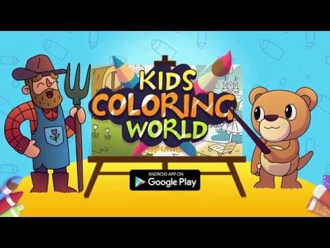 Vídeo do Livro de Colorir para Crianças