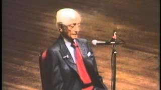 J. Krishnamurti - Washington DC 1985 - Public Talk 2 - At the end of sorrow is passion