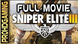 Sniper Elite 3 PC I The Movie I Full HD