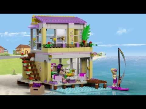 LEGO® Friends Набор Пляжный домик Стефани  41037