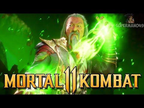 """Old Man Shang Tsung Is Awesome - Mortal Kombat 11 """"Shang Tsung"""" Gameplay"""