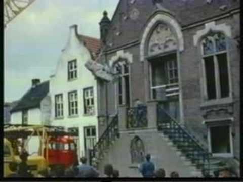 Sloop gemeentehuis Cuijk 1963