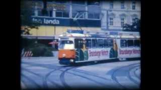 preview picture of video 'Bahn, Obus und Straßenbahn Linz (Super8 film)'