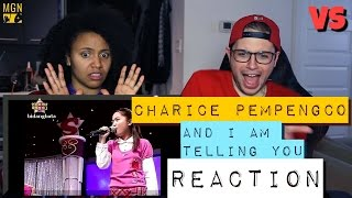 Charice Pempengco - And I Am Telling You - VS - Reaction