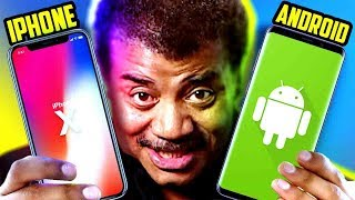 Why iPhone is Better than Android - Neil deGrasse Tyson