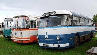 Ретро Автомобили СССР: Автобус   Троллейбус   Грузовик   Автомобиль. Обзор старой техники (2 серия)