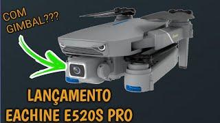 LANÇAMENTO EACHINE E520S PRO ESPECIFICAÇÕES COMPARATIVO COM CÂMERA 4K BOM E BARATO PARA INICIANTES