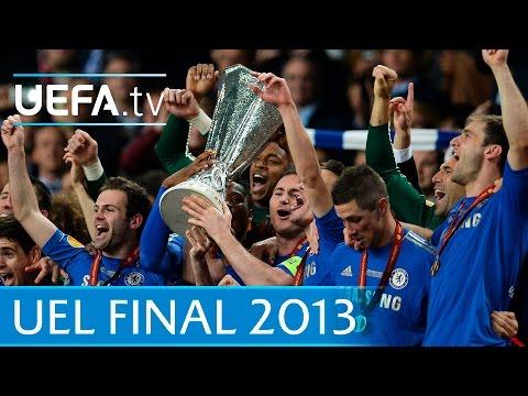 Benfica v Chelsea: 2013 UEFA Europa League final