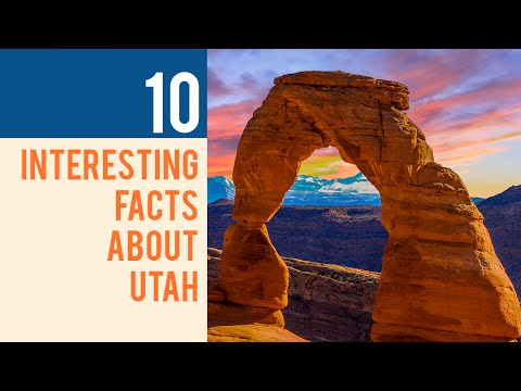 10 Interesting Facts about Utah