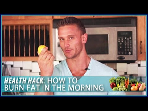 Video How to Burn Fat in the Morning: Health Hack- Thomas DeLauer