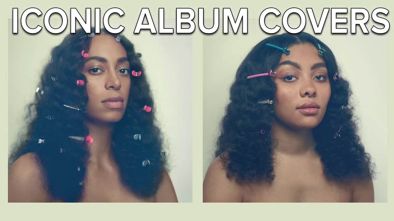 People Re-Create Iconic Black Album Covers thumbnail