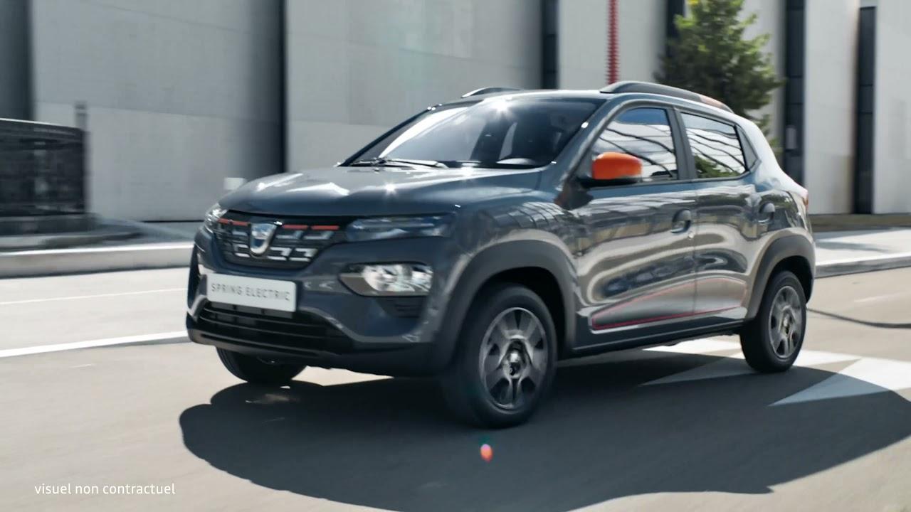 Dacia Spring - 100% électrique