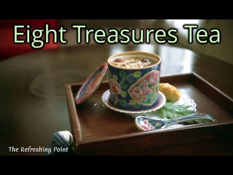 Video Eight Treasures Tea is Known for its Prized Health Benefits - Chinese Herbal Tonic for Longevity