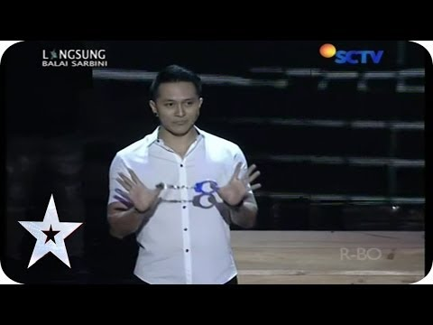 Demian and His Magic Trick - Guest Star - SEMIFINAL 2 - Indonesia's Got Talent (видео)