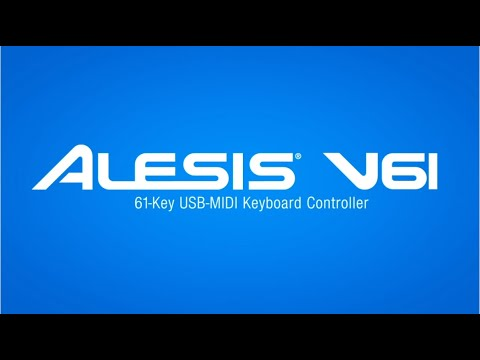 61 Key s Alesis Expressive Usb Pad//keyboard Controller v61