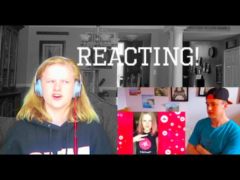 reacting to people reacting to me!