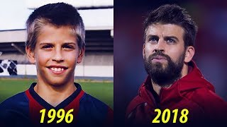 Gerard Piqué - Transformation From 2 To 31 Years Old