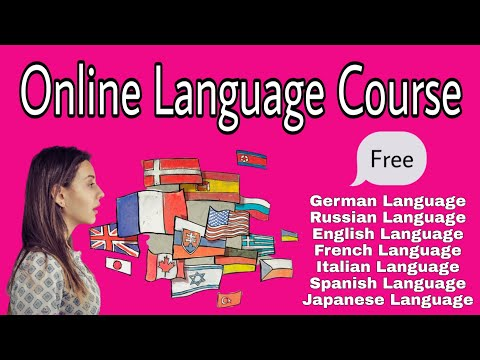 Free Language Course |  Online Free Language Course | Learn French ,German, English , Spanish IN 202