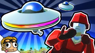 UFO ALIEN INVASION UPDATE! | Ravenfield Weapon and Vehicle Mod Beta Gameplay
