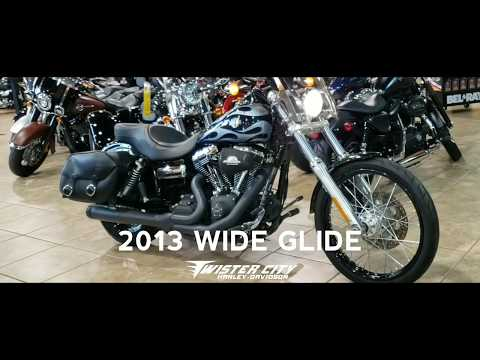 2013 Harley-Davidson® Wide Glide® : FXDWG