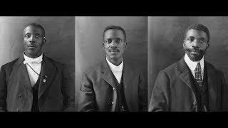 Vintage Photos of African American Men in Washington DC in the 1800s