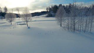 IFlight Nazgul 5 6s Winter cruising - Cinematic FPV 4K