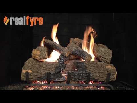 Peterson Real Fyre Charred Oak Gas Logs