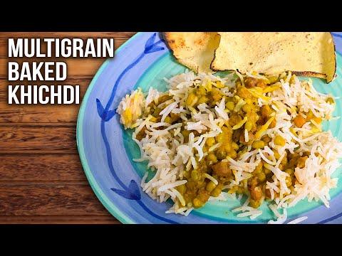 Multigrain Khichdi Recipe | How To Make Mix Dal Khichdi | 3 Grain Nutritious Khichdi | Ruchi