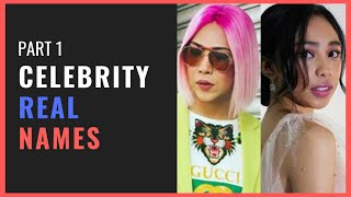 PART 1 - Celebrity Real Names That Will Surprise You | Must Watch