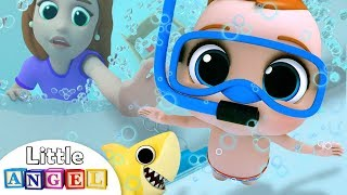 Bath Time Song | Baby's Bath Time | Little Angel Nursery Rhymes