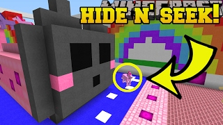 Minecraft: KAWAII ANIMALS HIDE AND SEEK!! - Morph Hide And Seek - Modded Mini-Game