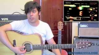 COMO AFINAR LA GUITARRA APRENDE A TOCAR Afinador LECCION como se afina una guitarra
