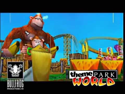 Theme Park World - Sony PlayStation 2 - PS2 - Occasion - Complet - PAL