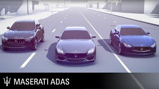 Maserati Advanced Driver Assistance Systems - Adaptive Cruise Control