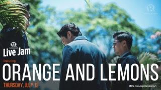 Rappler Live Jam: Orange and Lemons
