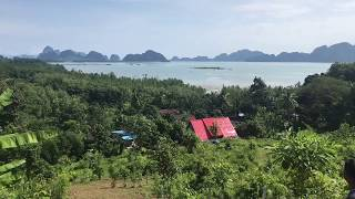 Large 7 Rai Land Plot for Sale in Phang Nga with Amazing Bay Views