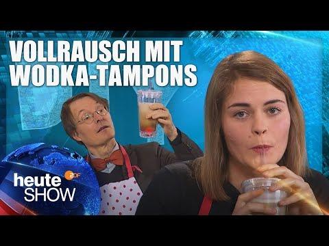 Anti-Kater-Drinks selber machen – mit Hazel Brugger und Karl Lauterbach | heute-show