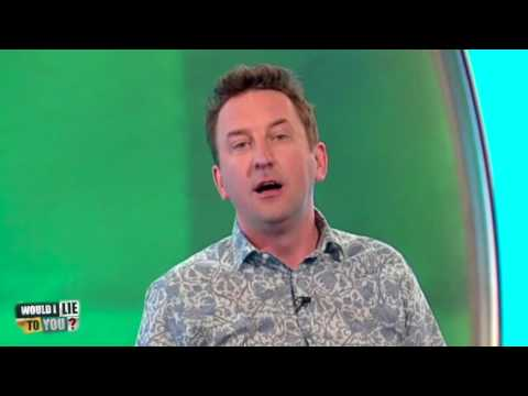 Stopař se bál, že ho Lee Mack zabije - Would I Lie to You?