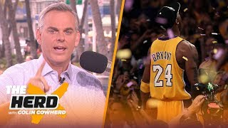 Colin Cowherd is moved to tears reflecting on Kobe's legacy & impact | THE HERD | LIVE FROM MIAMI