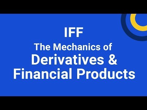 The Mechanics of Derivatives & Financial Products training course ...