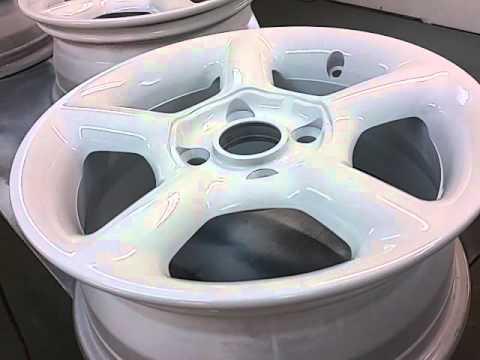 ford escort wheels paint