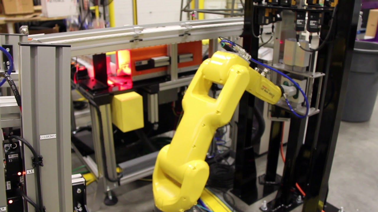 Inspect and Pack Robotic Work Cell