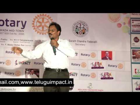 Smile |T Venu Gopal | TELUGU IMPACT Vijayawada 2014