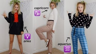 I Dressed Like Every Zodiac Sign According To Fashion Blogs