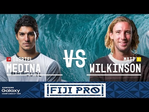 Gabriel Medina vs. Matt Wilkinson - Fiji Pro 2016 Final