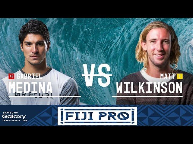 Gabriel Medina vs. Matt Wilkinson - Fiji Pro 2016 Final