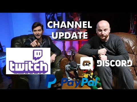 Channel Update - Twitch, Discord, Paypal, Ted Bundy!